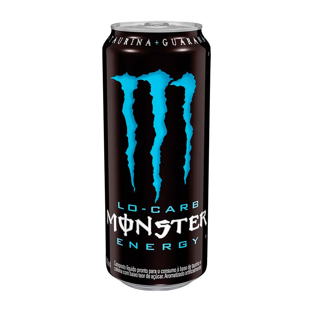 Energético Low Carb 473ml Monster Energy Drink