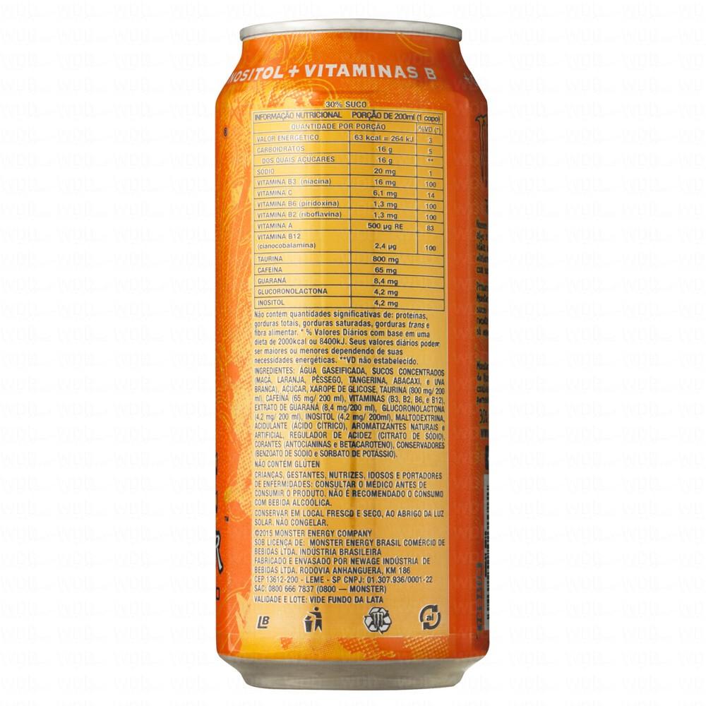 Energético Monster Energy Juice Khaos 473ml