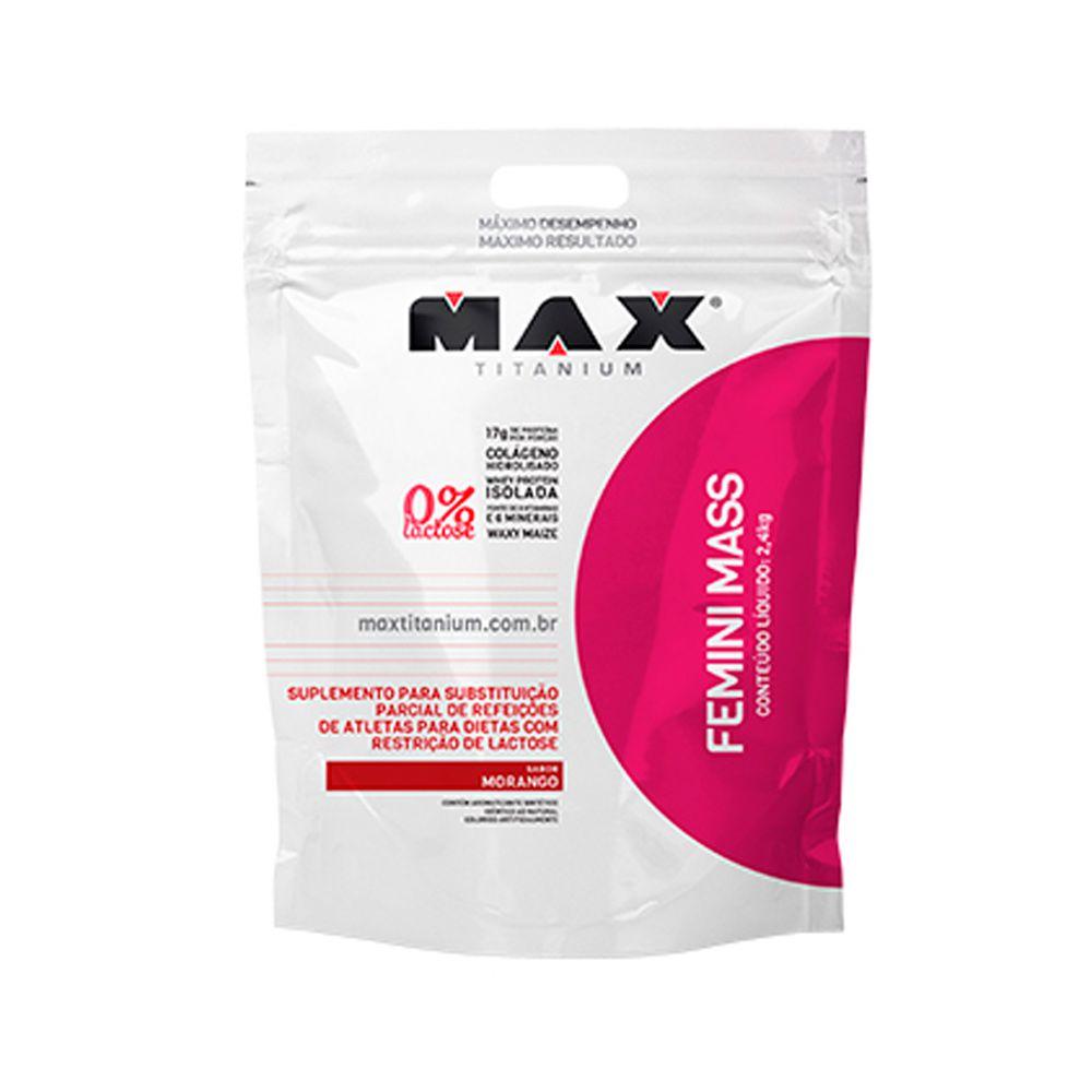Femini Mass 2,4kg Max Titanium