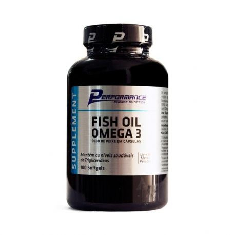 Fish Oil Omega 3 100 caps Performance