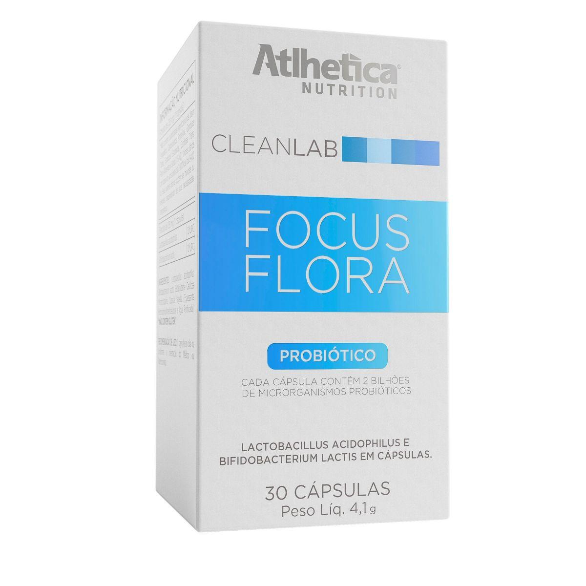 Focus Flora 30 caps Atlhetica Nutrition