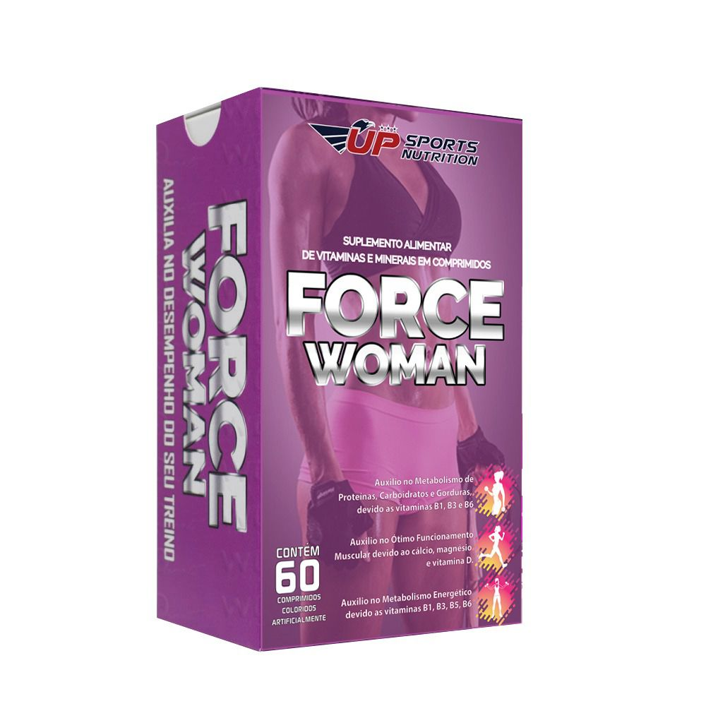 Force Woman 60 caps Up Sports Nutrition