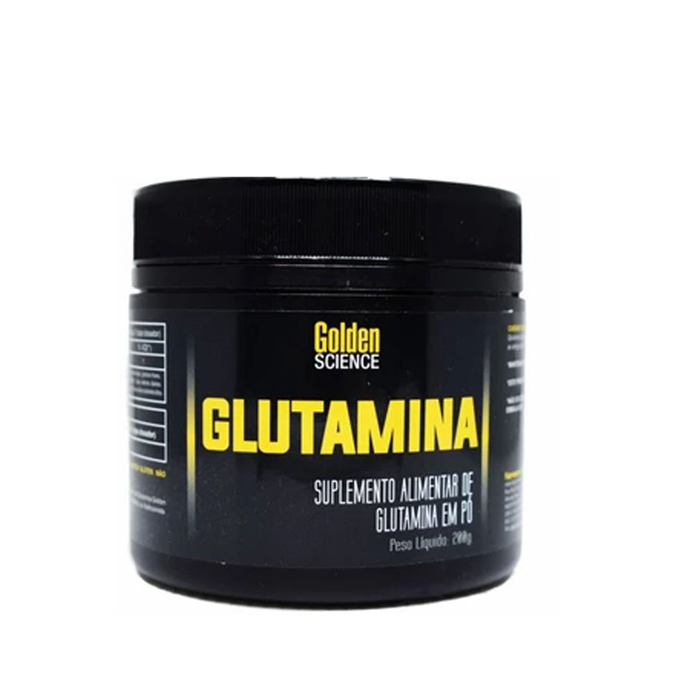 Glutamina 200g Golden Science