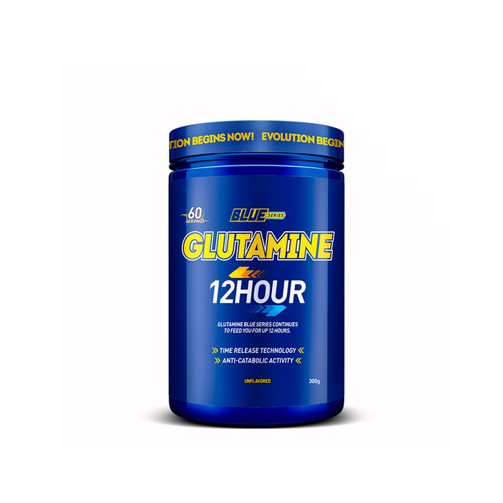 Glutamine 12 Hour 300g Blue Series