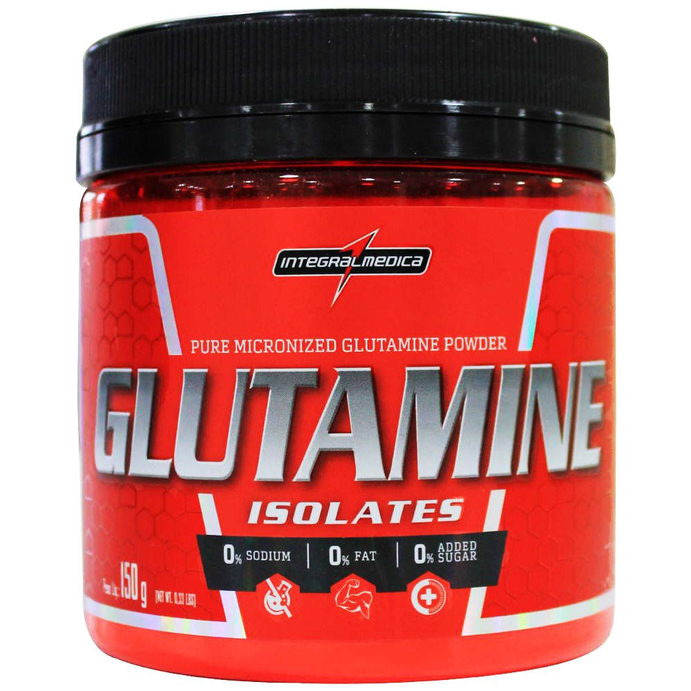 Glutamine Isolates 150g Integralmédica