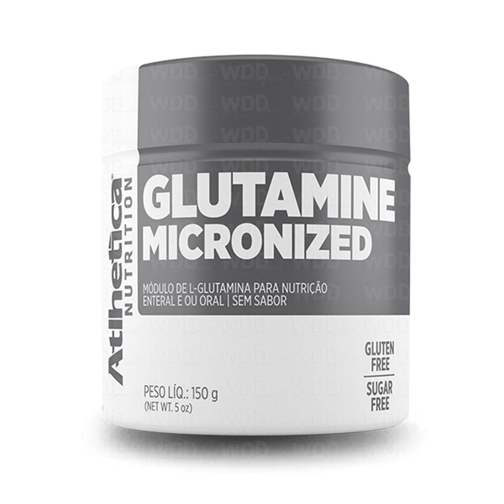 Glutamine Micronized 150g Atlhetica