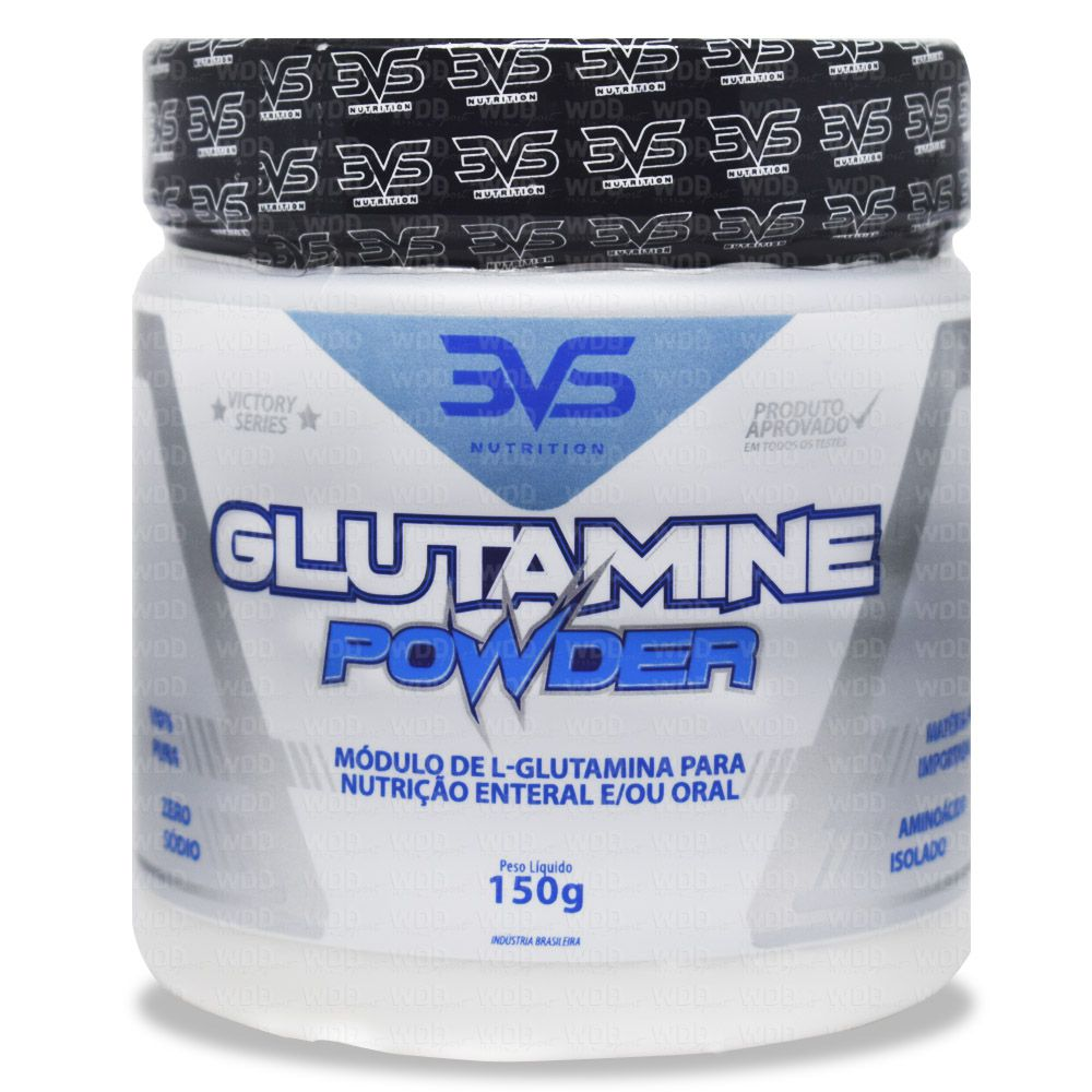 Glutamine Powder 150g 3VS Nutriton