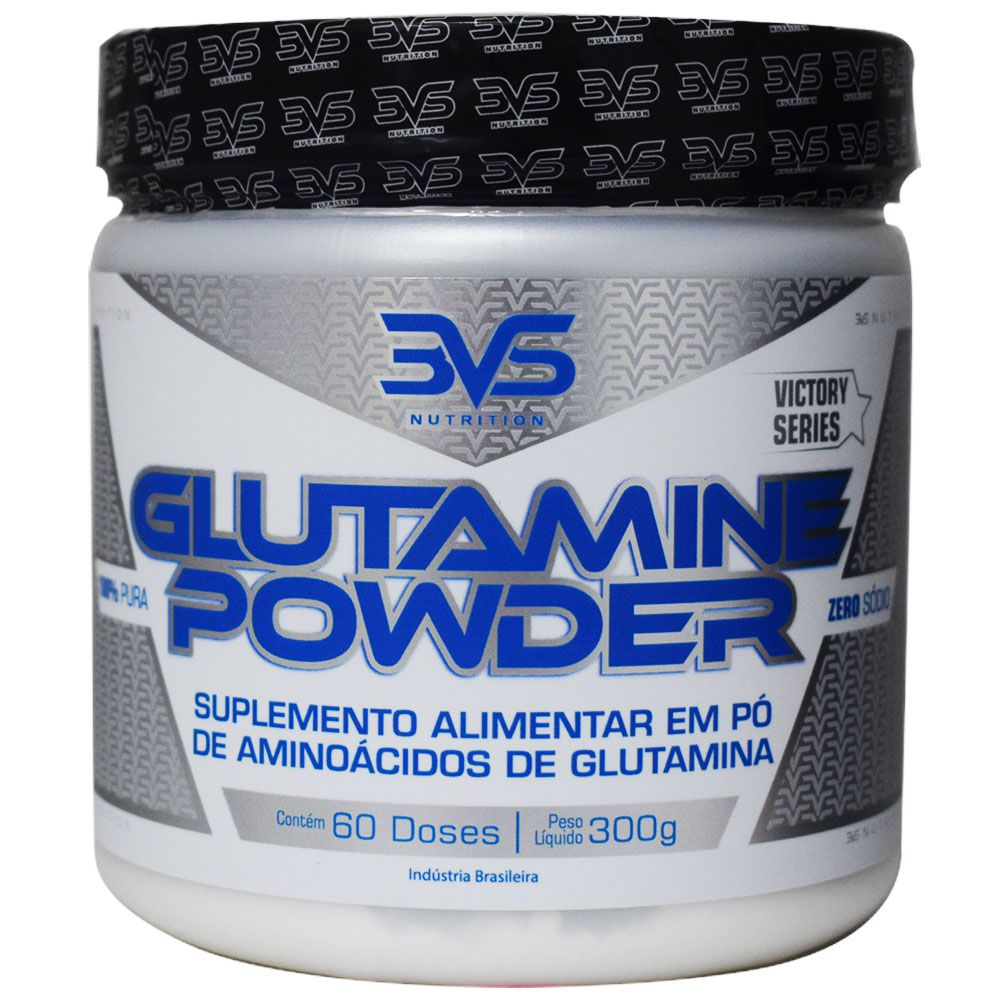 Glutamine Powder 300g 3VS Nutriton