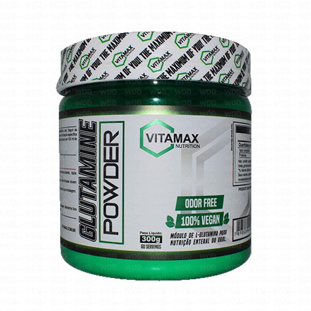 Glutamine Powder 300g Vitamax Nutrition