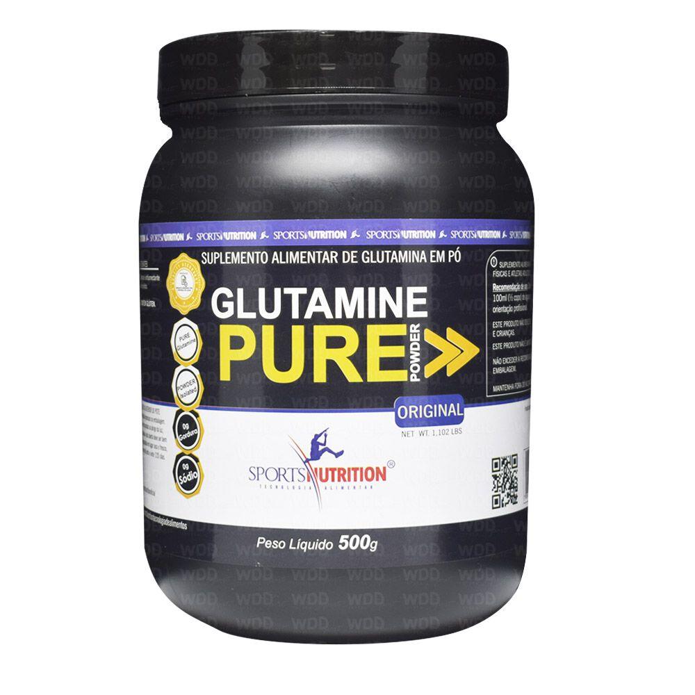Glutamine Pure Powder 500g Sports Nutrition