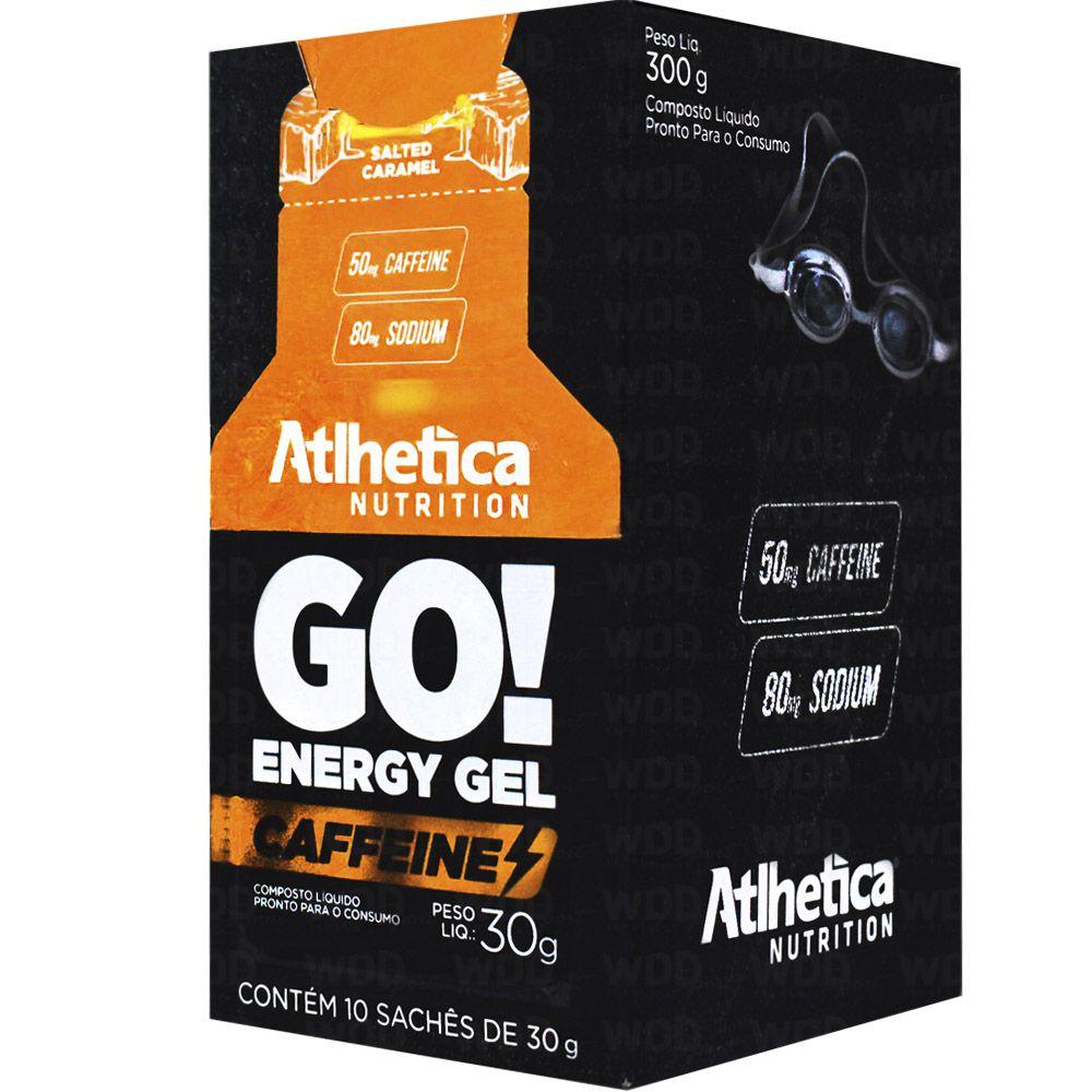 Go! Energy Gel Caffeine 10 Sachês de 30g Atlhetica