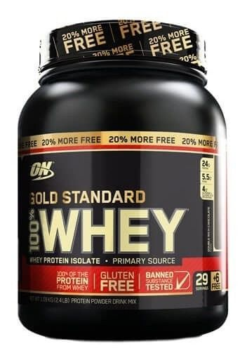 Gold Standard 100% Whey 2,4lbs 1,09kg Optimum