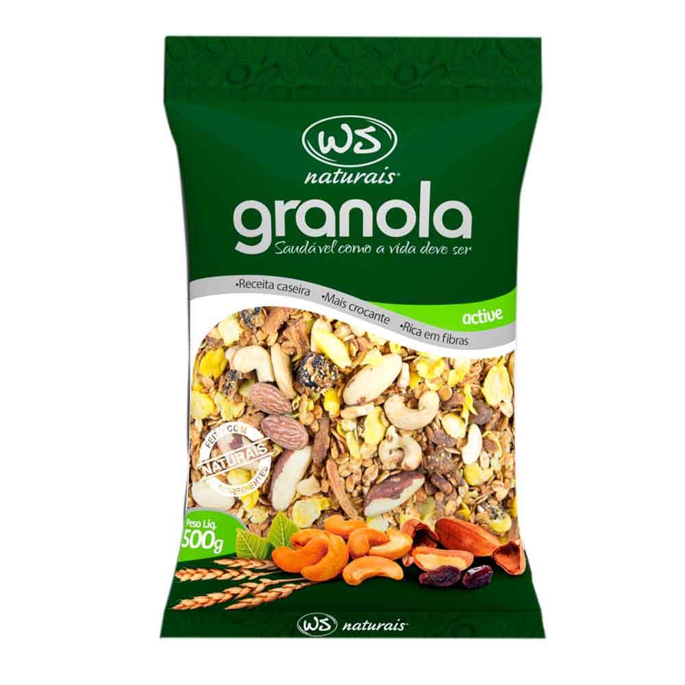Granola Active 500g WS Naturais
