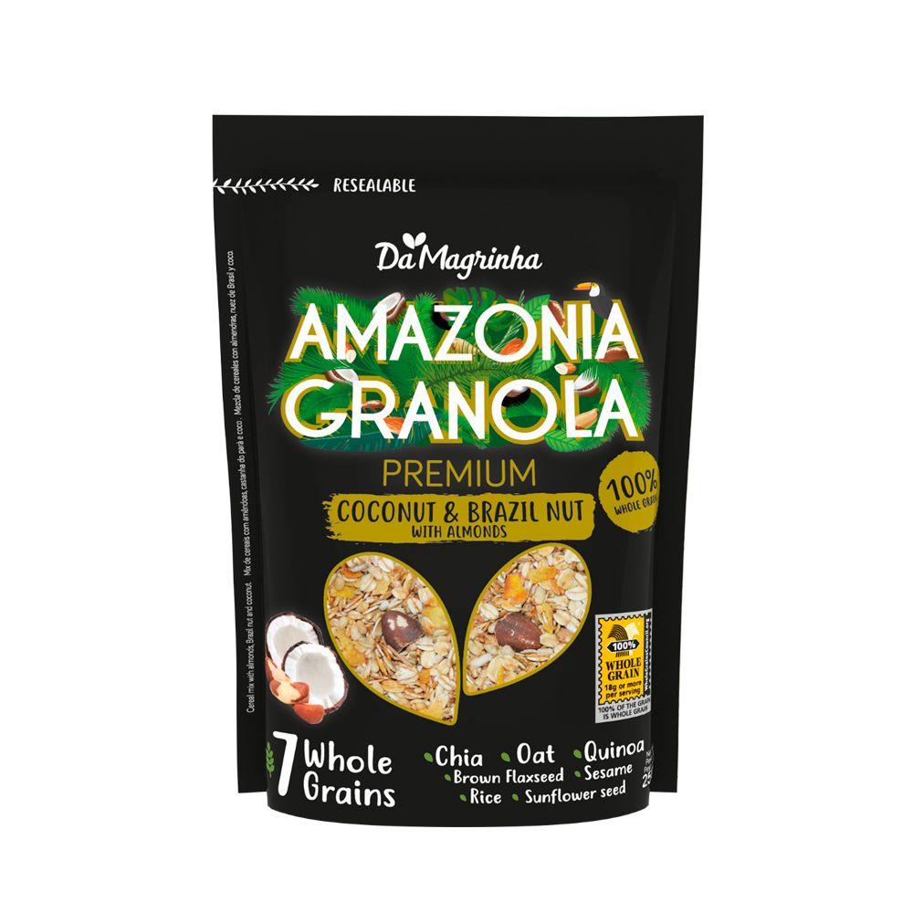 Granola Premium 100% Integral Granola com Coco 750g Da Magrinha