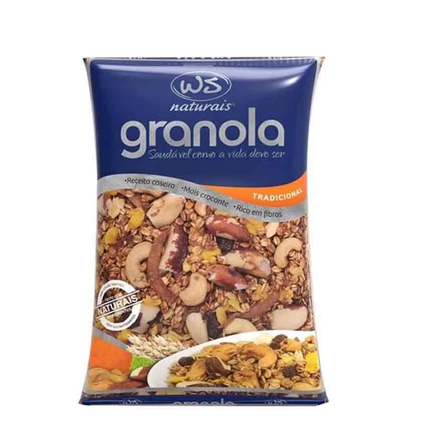 Granola Tradicional 1kg WS Naturais