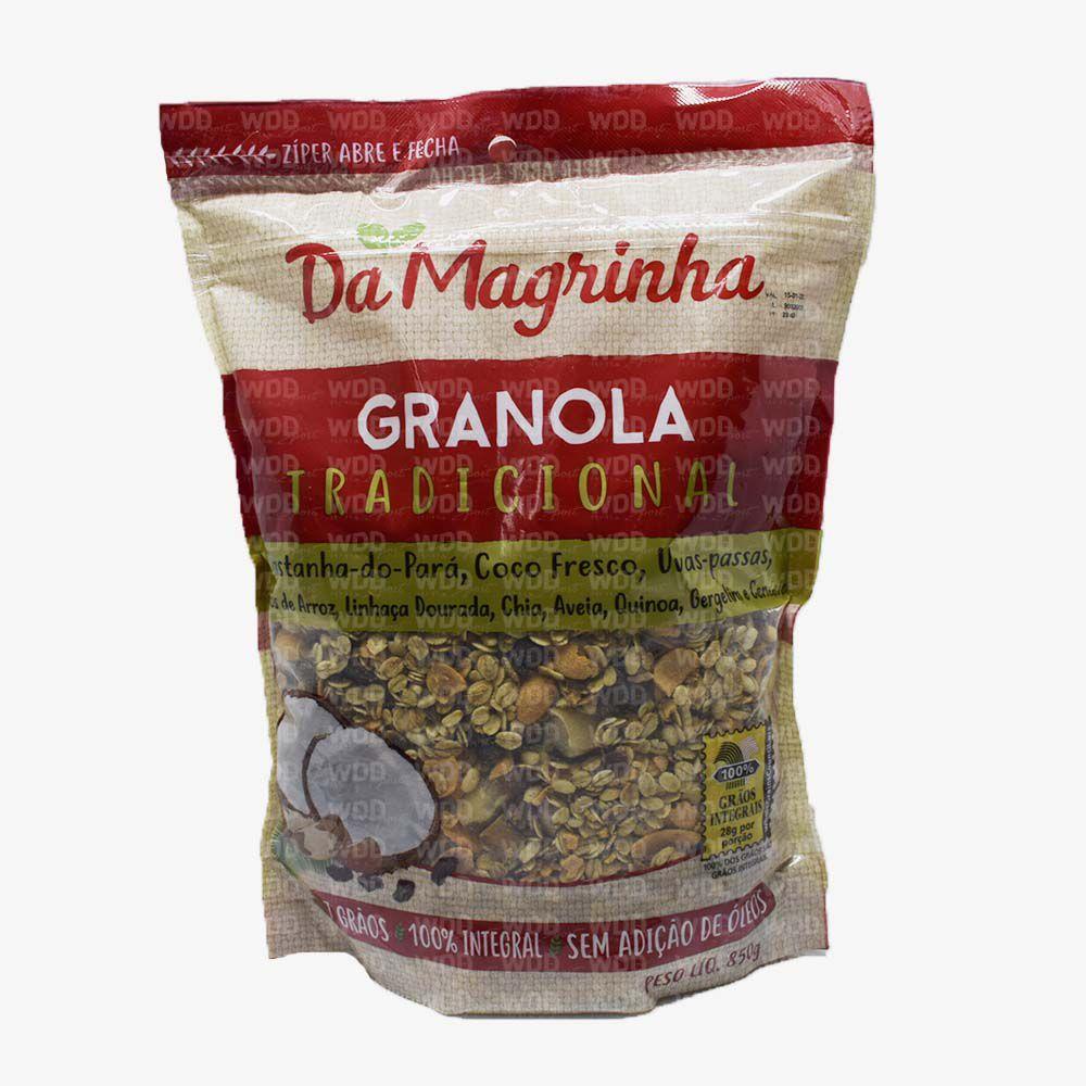 Granola Tradicional 850g Da Magrinha