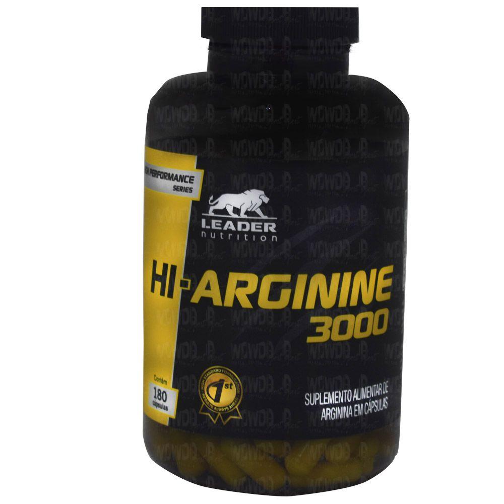 Hi-Arginine 3000 180 caps Leader Nutrition