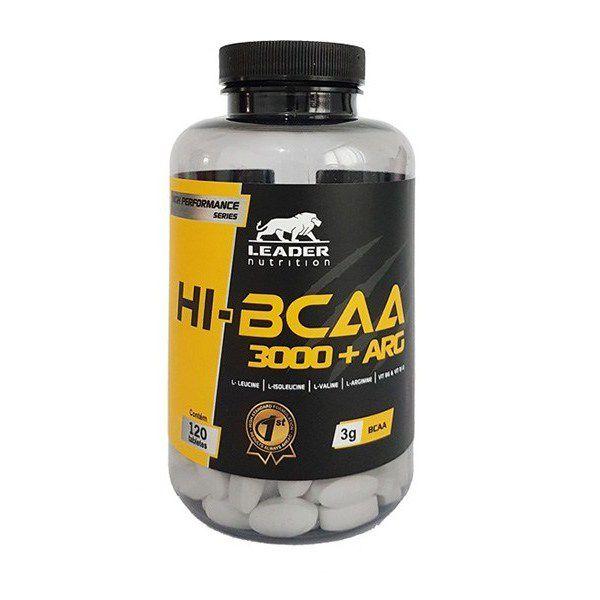 Hi-Bcaa 3000 + Arg 120 tabs Leader Nutrition