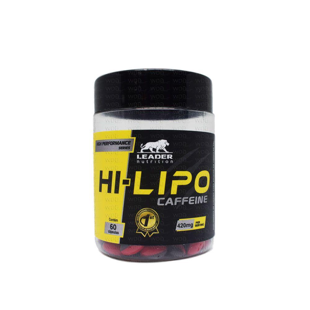 Hi-Lipo Caffeine 60 caps Leader Nutrition