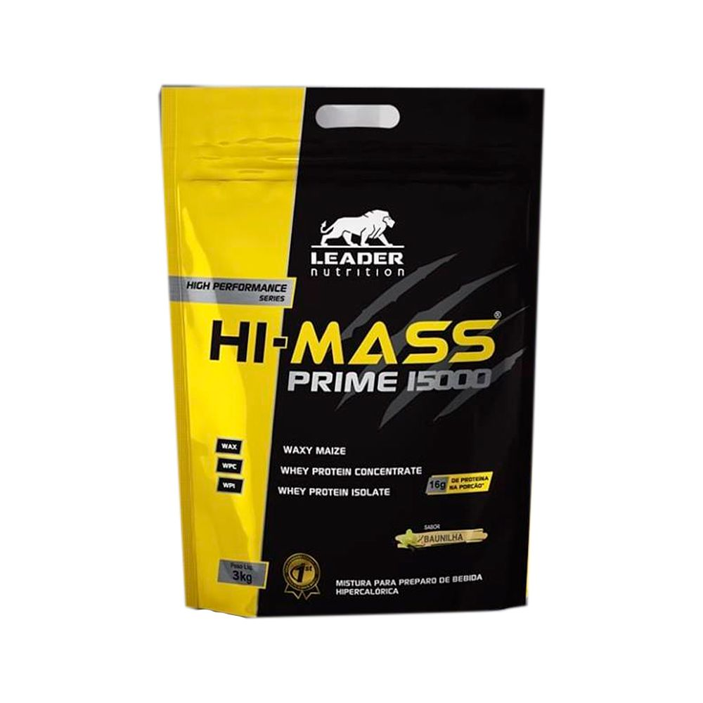 Hi-Mass Prime 15000 3kg Leader Nutrition