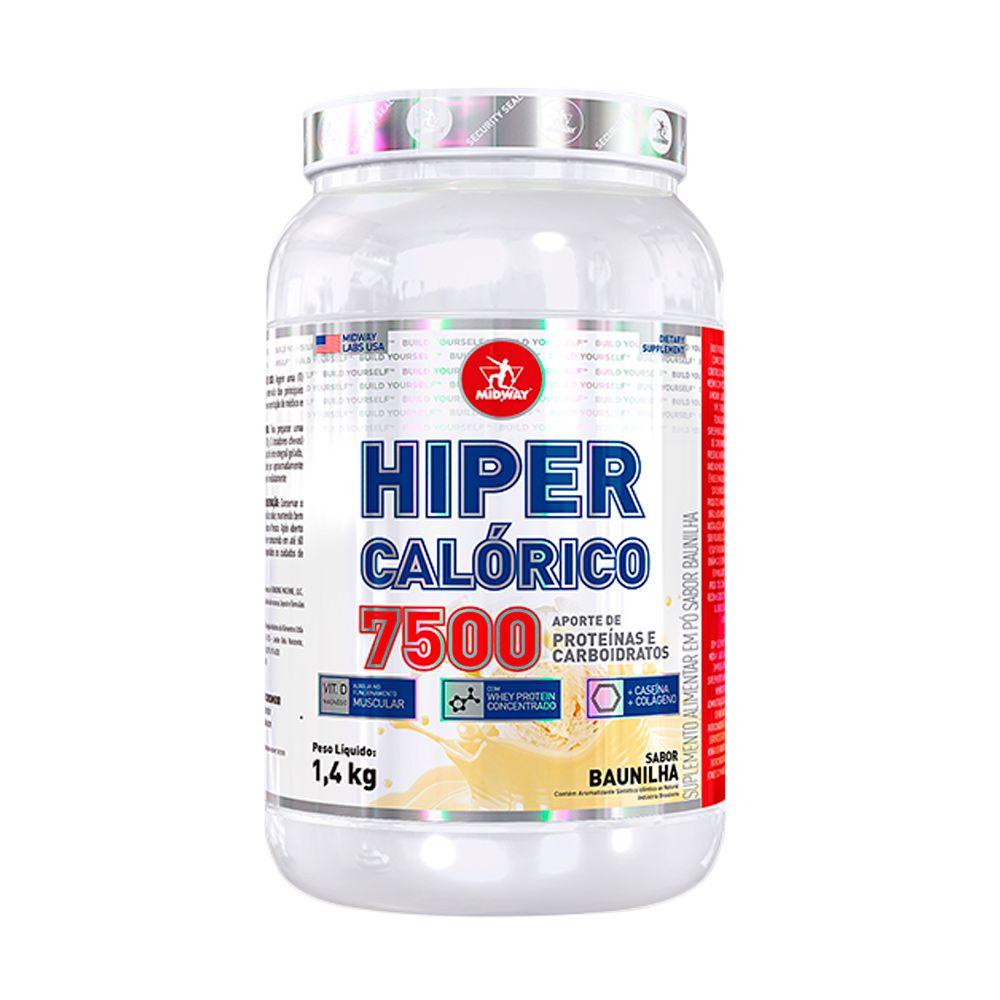 Hiper Calórico 7500 1,4kg Midway