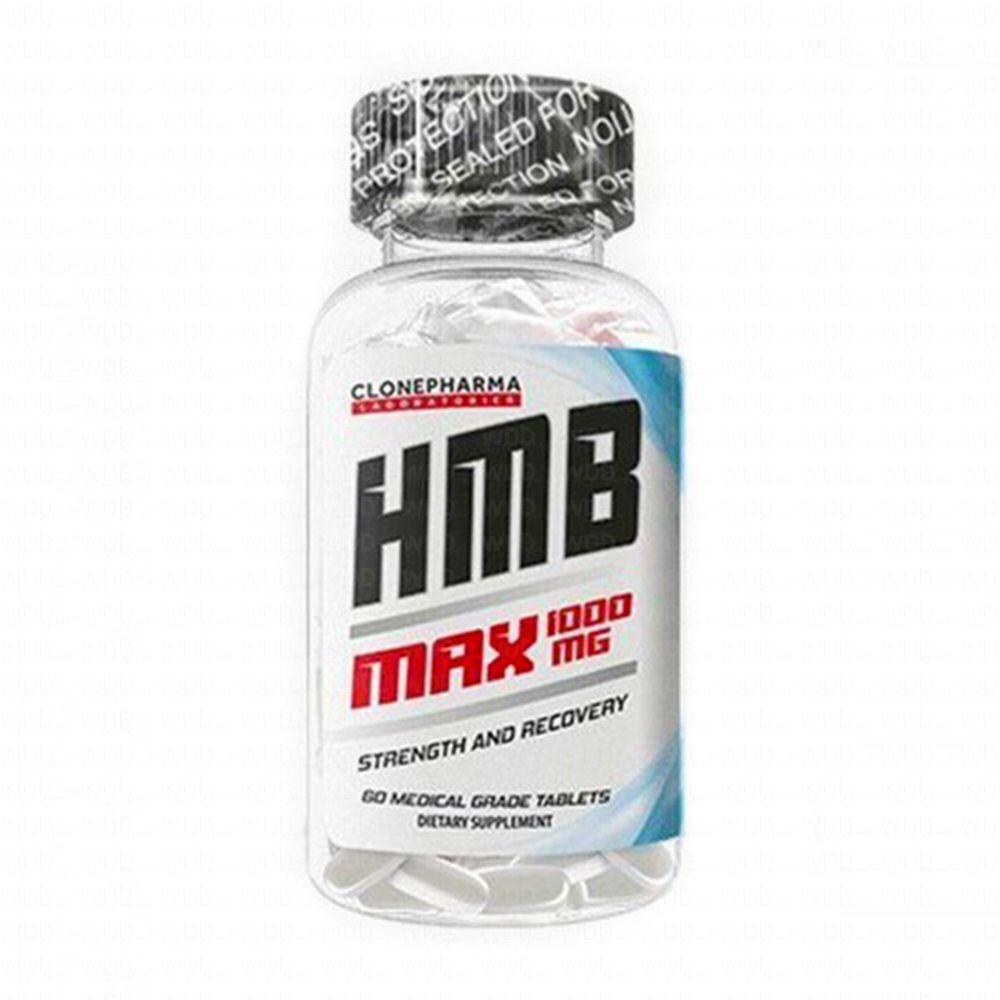 HMB Max 1000mg 60 tabs Clone Pharma