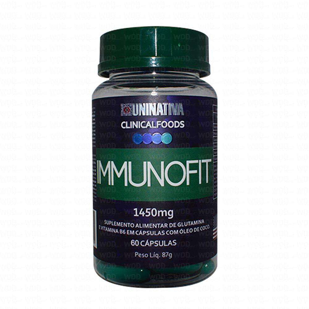 Immunofit 60 caps Uninativa Clinical Foods