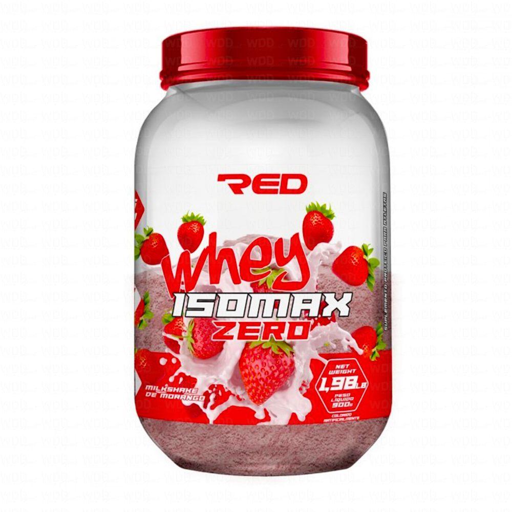 Isomax Zero Whey 900g Red Series