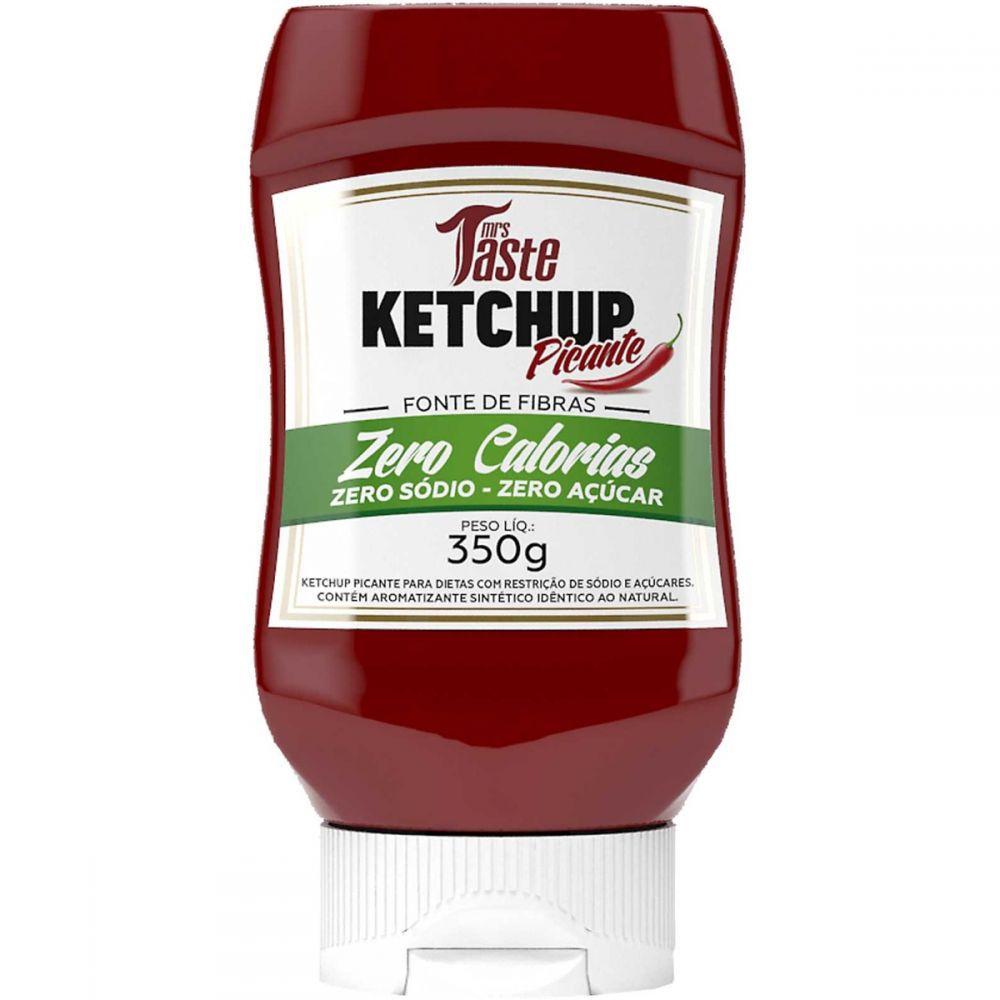 Ketchup Picante Zero Calorias 350g Mrs Taste