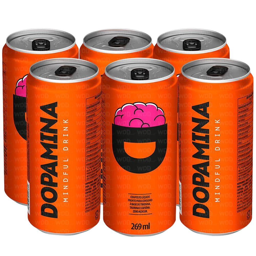 Kit Dopamina 6 unidades