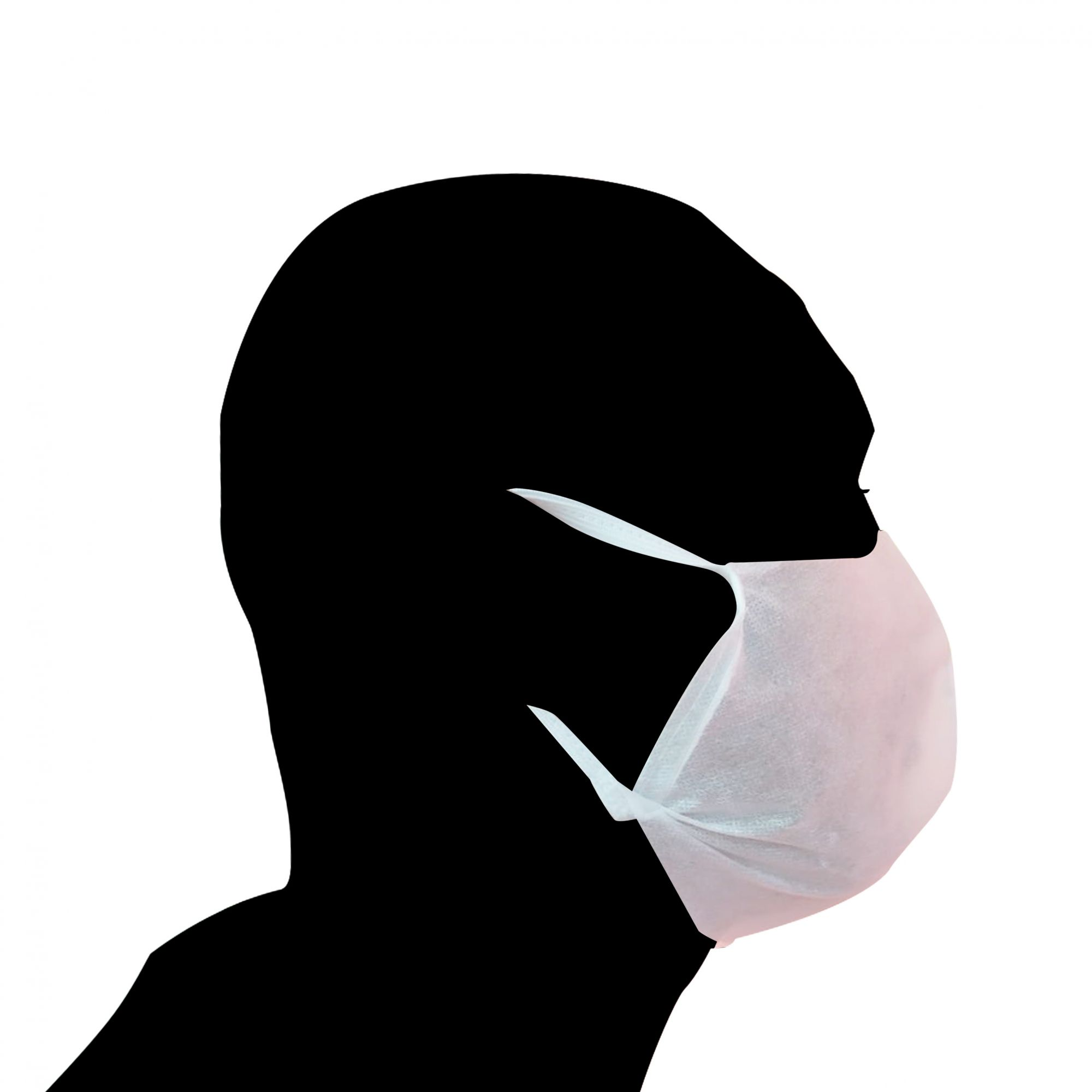 KIT Máscara Descartável TNT 10 Unidades