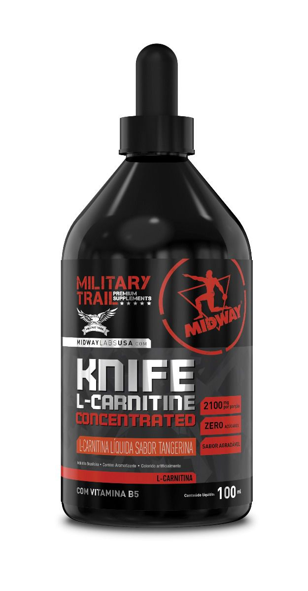 Knife L-Carnitine Concentrated 100ml Midway