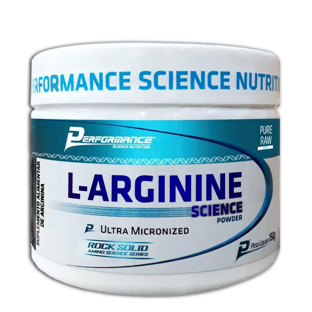 L-Arginine Science Powder 150g Performance
