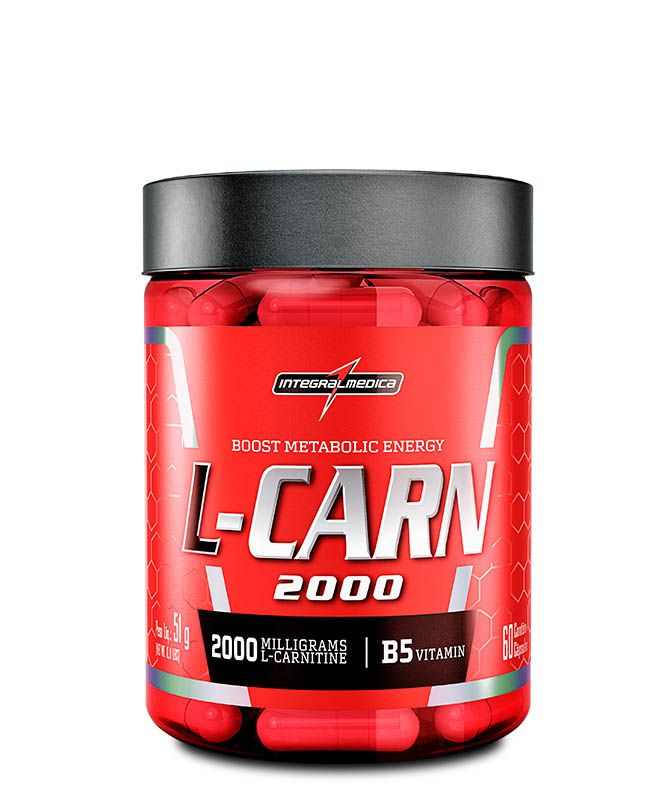 L-Carn 2000 60 caps Integralmedica