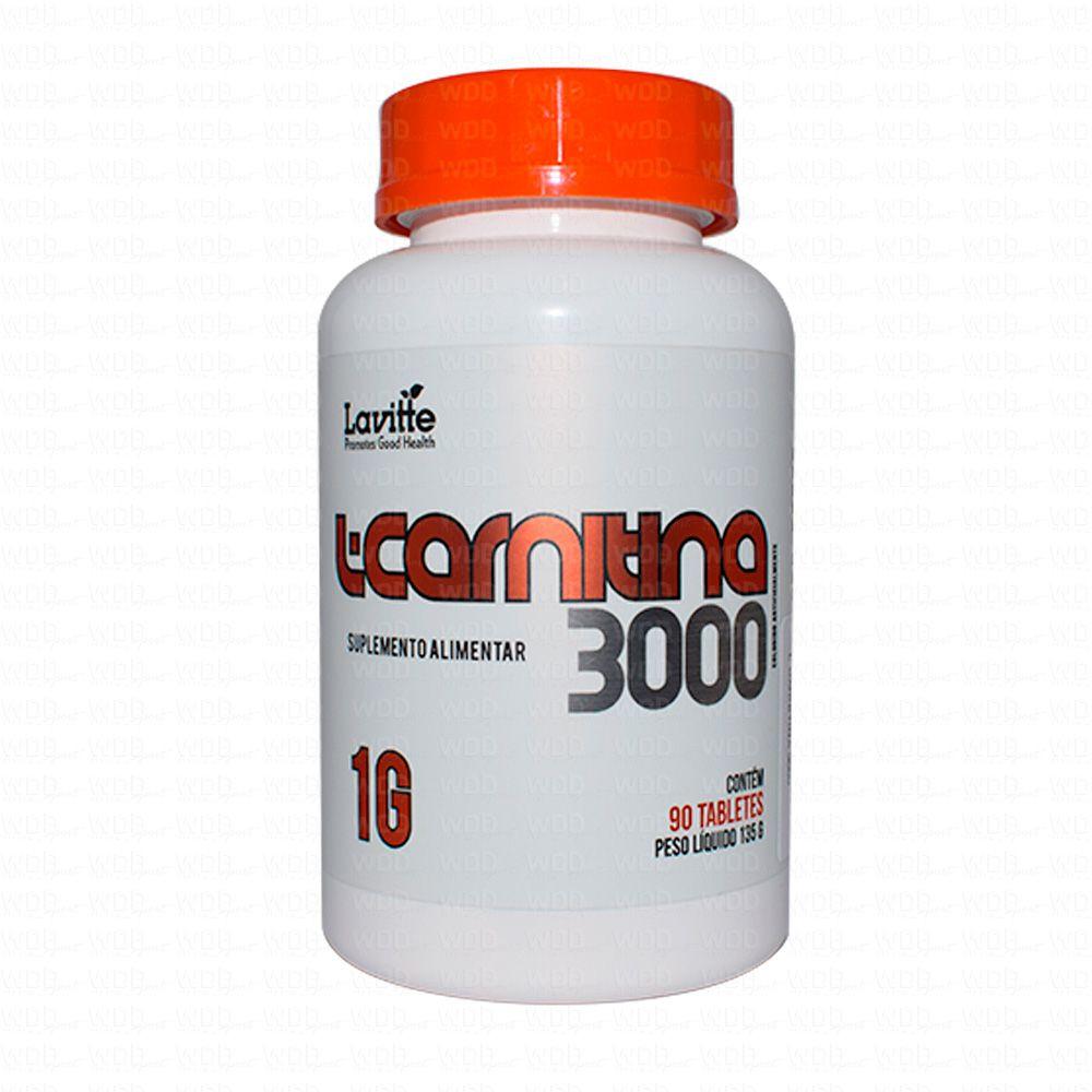 L-Carnitina 3000 90 tabs Lavitte