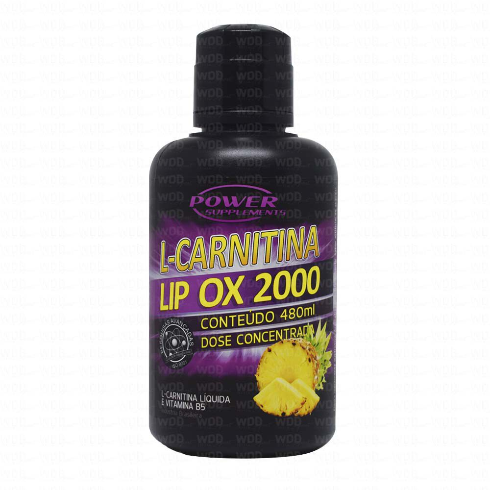 L-Carnitina LIP OX 2000 480ml Power Supplements