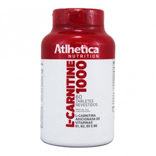 L-Carnitine 1000 60 tabs Atlhetica Nutrition