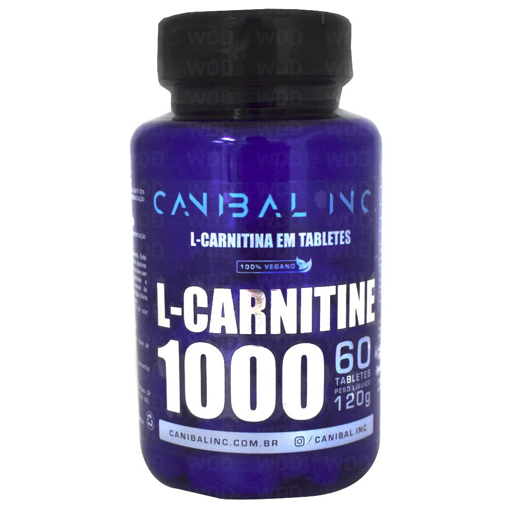 L-Carnitine 1000 60 tabs Canibal Inc