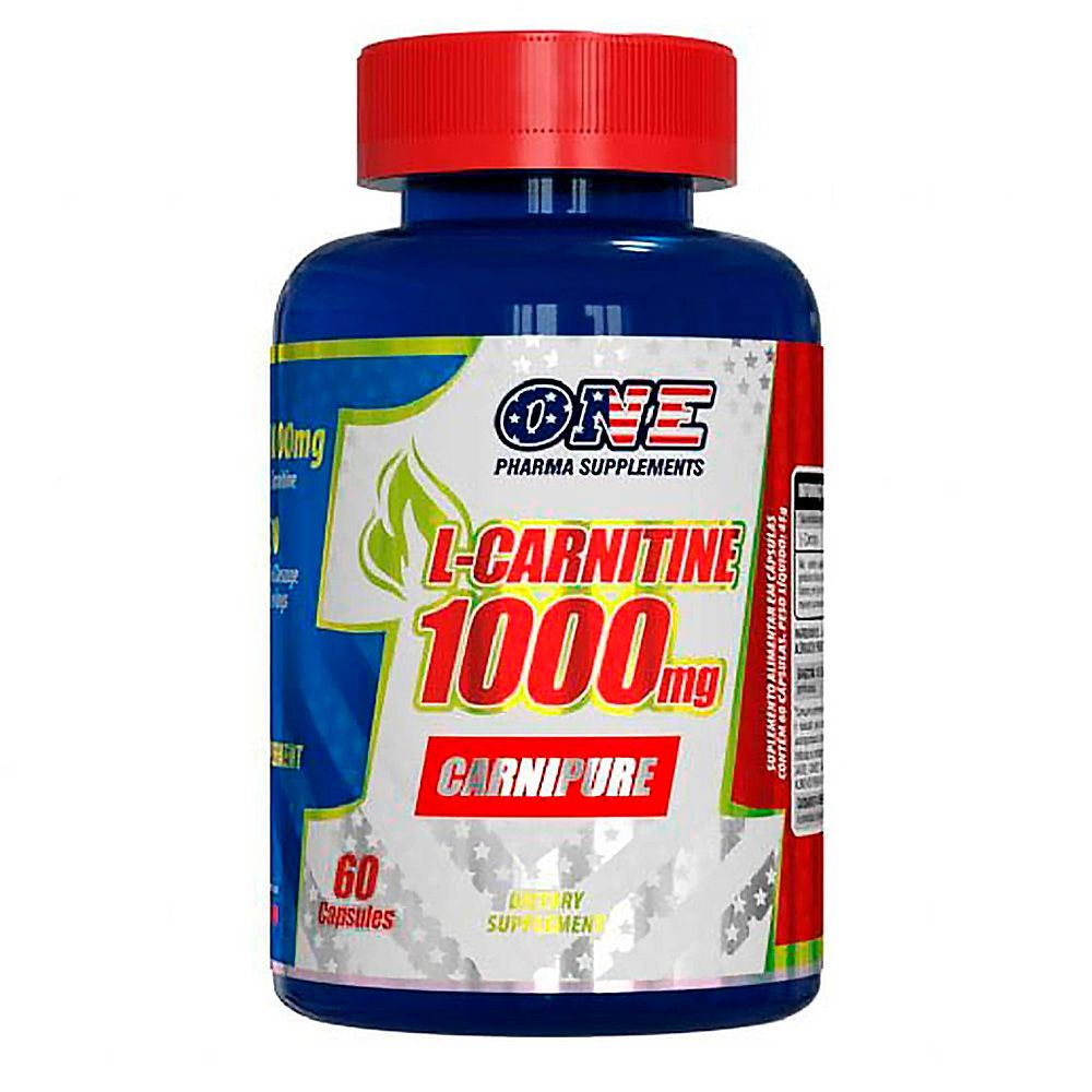 L-Carnitine 1.000mg 60caps One Pharma Supplements