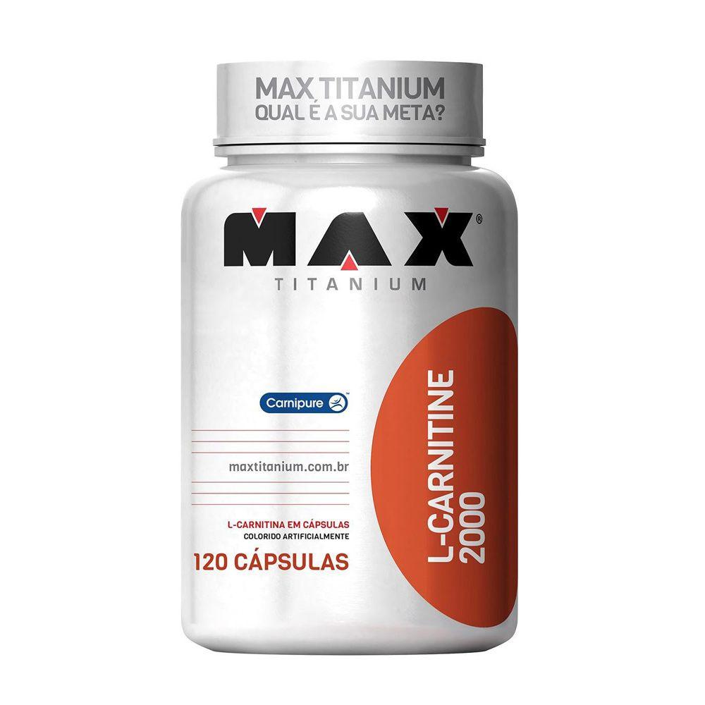 L-Carnitine 2000 120 caps Max Titanium