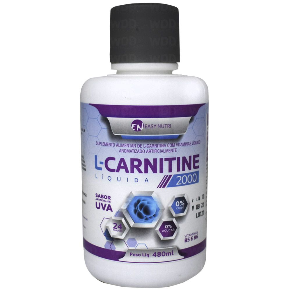 L-Carnitine 2000 480ml Easy Nutri