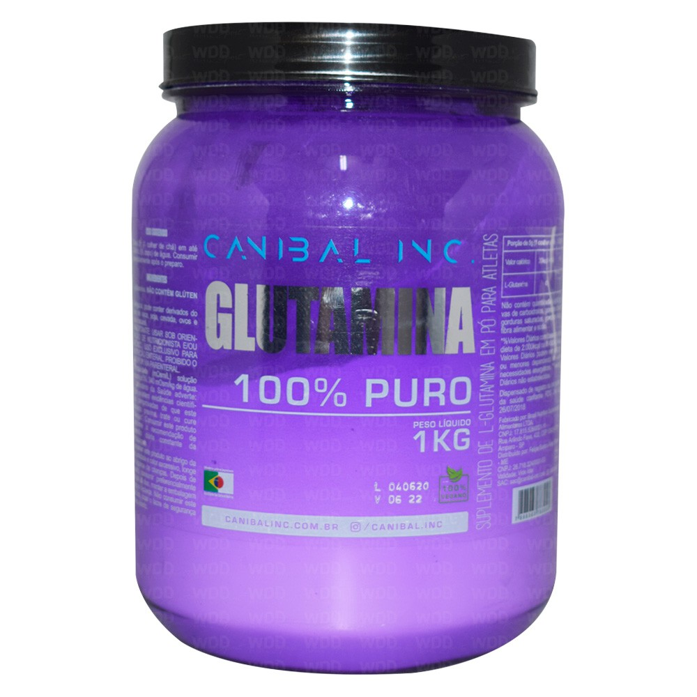 L Glutamina 1Kg Canibal Inc