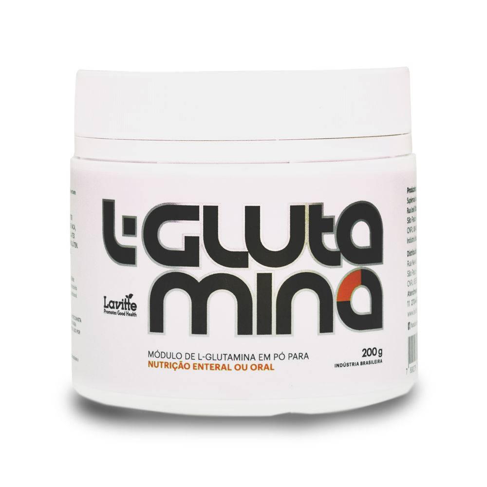 L-Glutamina 200g Lavitte