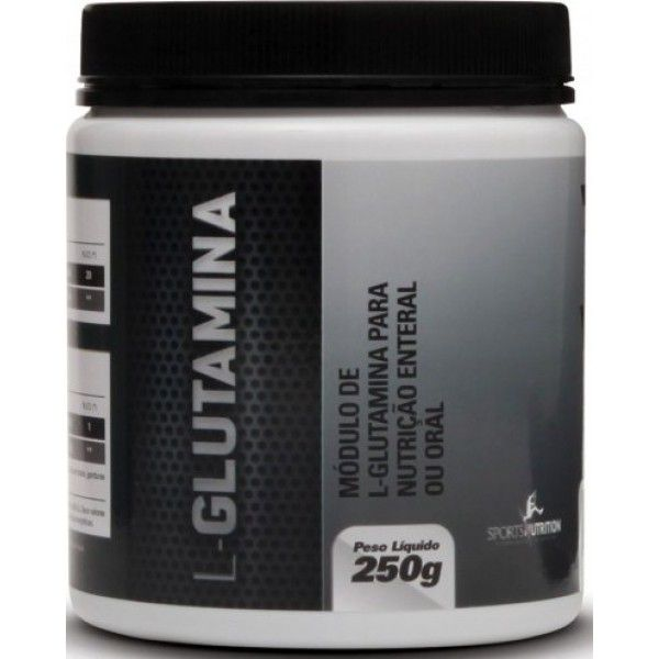 L-Glutamina 250g Sports Nutrition