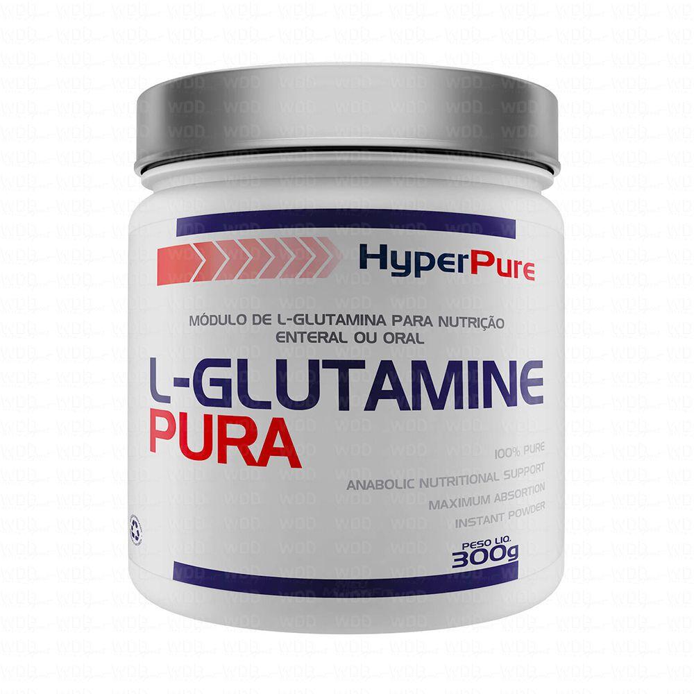 L-Glutamine Pura 300g HyperPure