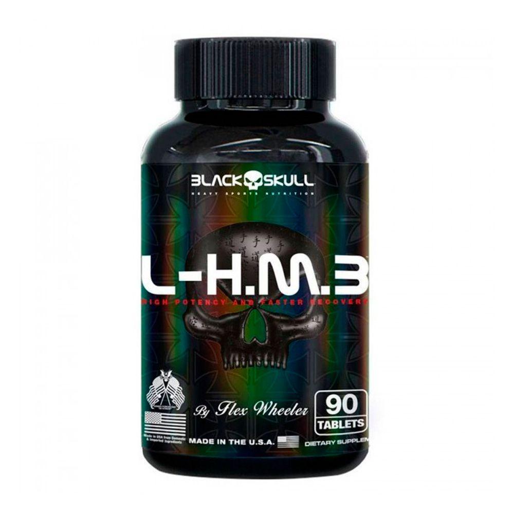 L.H.M.B. 90tabs Black Skull