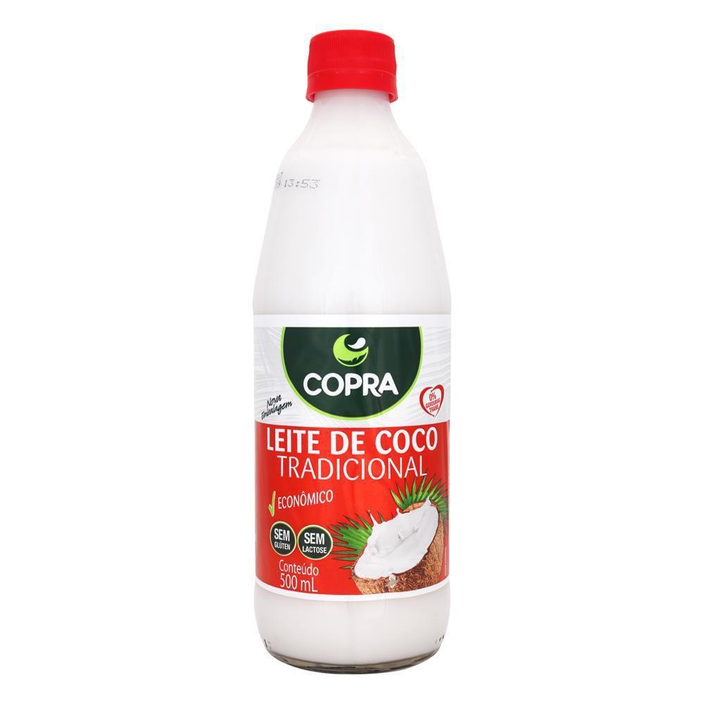 Leite de Coco Tradicional 500ml Copra