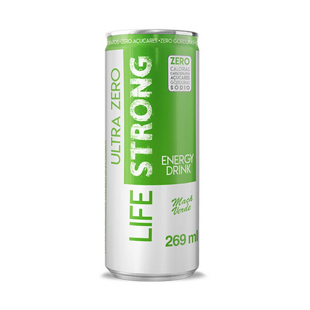Life Strong 269ml Ultra Zero - Maçã Verde