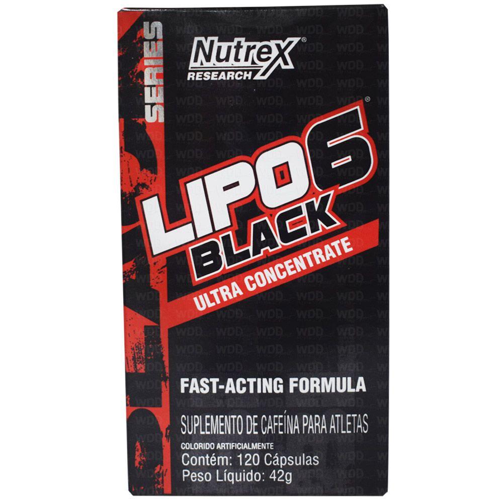 Lipo 6 Black Ultra Concentrate 120 Caps Nutrex