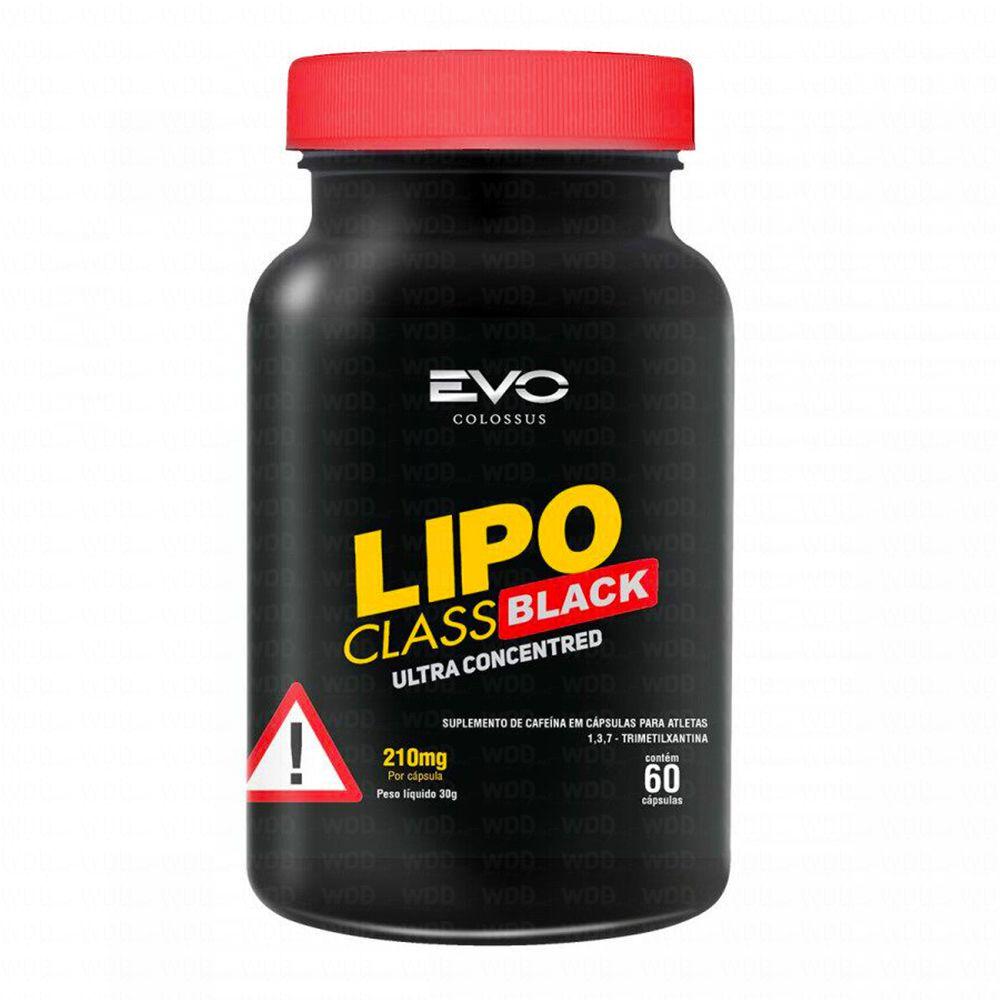 Lipo Class Black 60 caps Evo Colossus